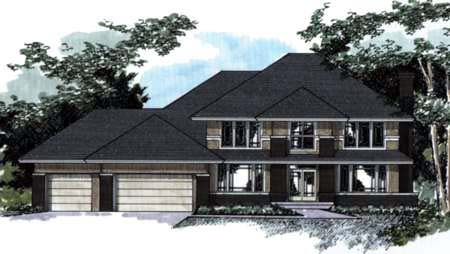 House Plan 42208 Elevation