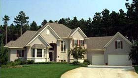 European House Plan 42209 Elevation