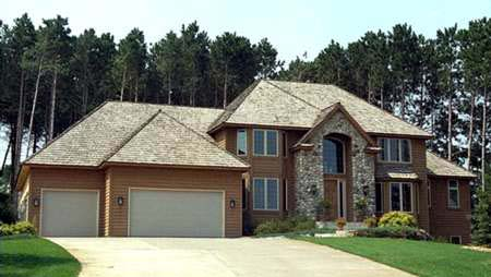 European House Plan 42215 Elevation