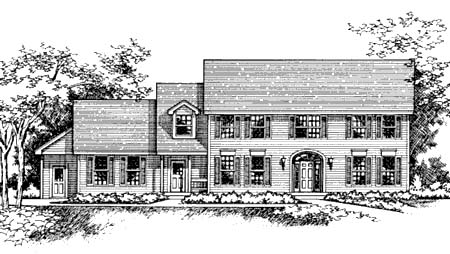 Southern House Plan 42216 Elevation