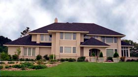 Contemporary House Plan 42227 Elevation