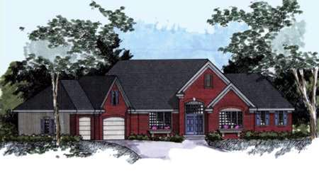 House Plan 42232 Elevation