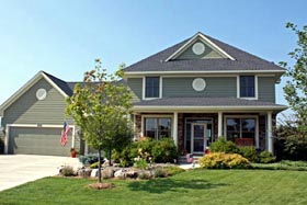 Traditional House Plan 42468 Elevation