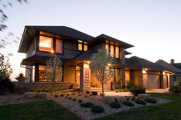 Contemporary craftsman style house plans home design and Contemporary craftsman home plans