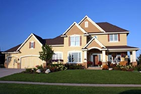 Traditional House Plan 42483 Elevation