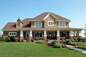 Traditional House Plan 42484 Elevation