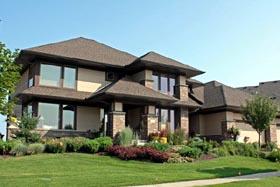 Craftsman Prairie Style Southwest House Plan 42497 Elevation