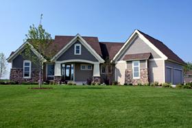 Craftsman Traditional House Plan 42498 Elevation