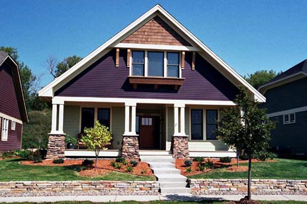 Traditional , Ranch , Craftsman , Cottage House Plan 42502 with 1 Beds, 2 Baths, 2 Car Garage Elevation
