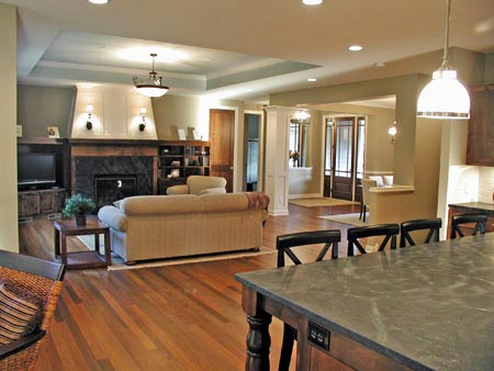 Craftsman, Ranch, Traditional House Plan 42509 with 2 Beds, 2 Baths, 3 Car Garage Picture 5