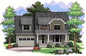 Craftsman Traditional House Plan 42519 Elevation