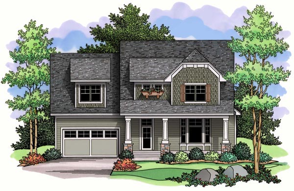 Craftsman Traditional House Plan 42519 Elevation
