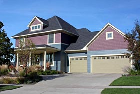House Plan 42567 | Traditional Style Plan with 2637 Sq Ft, 4 Bedrooms, 3 Bathrooms, 3 Car Garage Elevation
