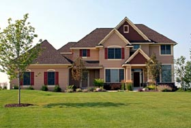 Traditional House Plan 42582 Elevation