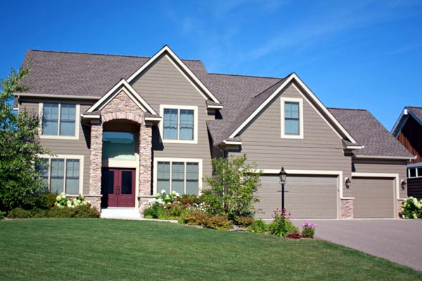Traditional House Plan 42598 with 4 Beds, 3 Baths, 3 Car Garage Elevation