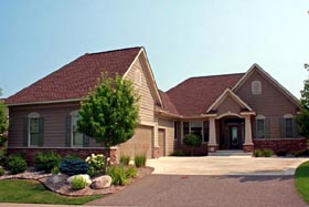 House Plan 42599 | Traditional Style Plan with 3727 Sq Ft, 3 Bedrooms, 3 Bathrooms, 3 Car Garage Elevation