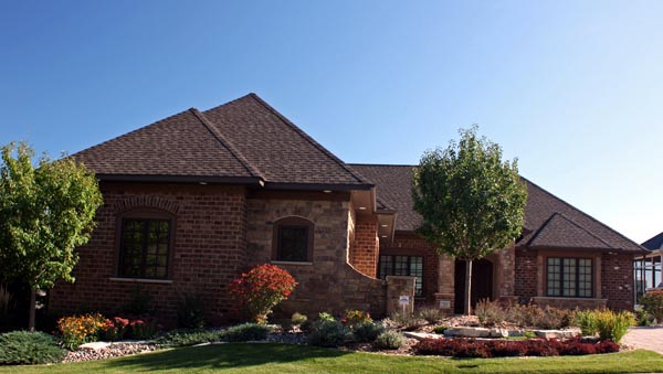 European House Plan 42605 with 3 Beds, 4 Baths, 3 Car Garage Picture 3