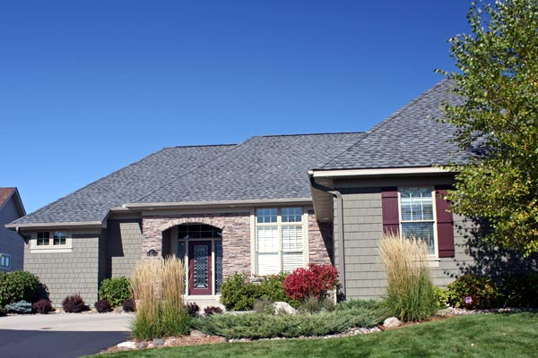 European House Plan 42607 with 3 Beds, 3 Baths, 2 Car Garage Picture 1