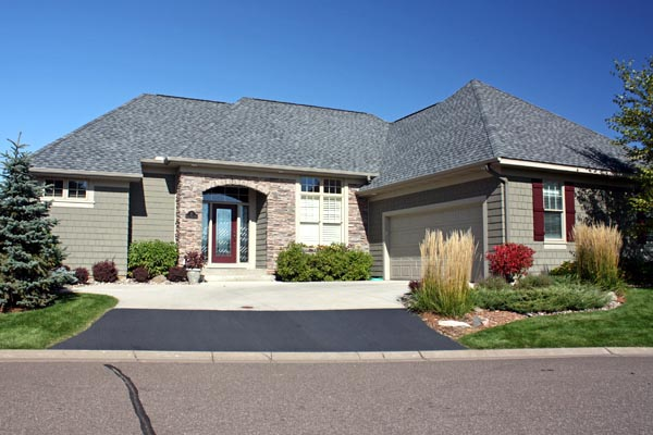 European House Plan 42607 with 3 Beds, 3 Baths, 2 Car Garage Picture 2