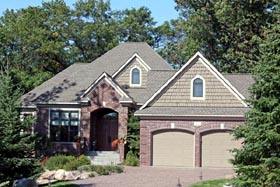 European House Plan 42608 Elevation