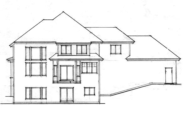 Traditional House Plan 42609 Rear Elevation