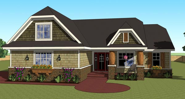 Traditional House Plan 42616 Elevation