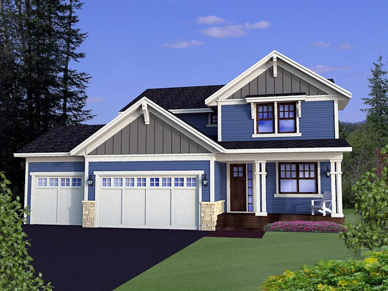 House Plan 42626 Elevation