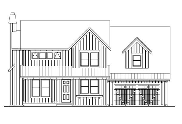 House Plan 42628 with 3 Beds, 4 Baths, 3 Car Garage Picture 1