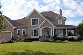 House Plan 42635 Elevation