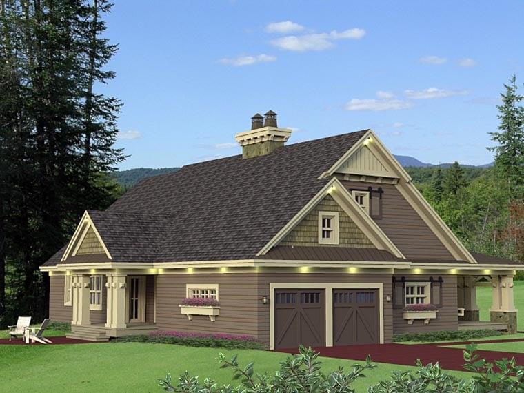 Craftsman House Plan 42653