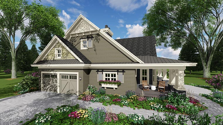 Craftsman House Plan 42653