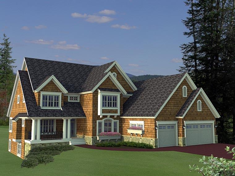 House Plan 42656 Elevation