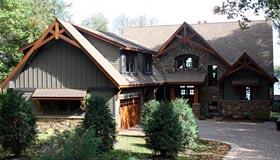 House Plan 42658 Elevation