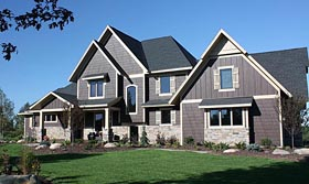 House Plan 42659 Elevation