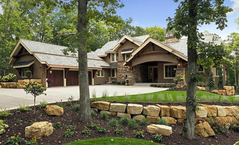 House Plan 42661 Elevation