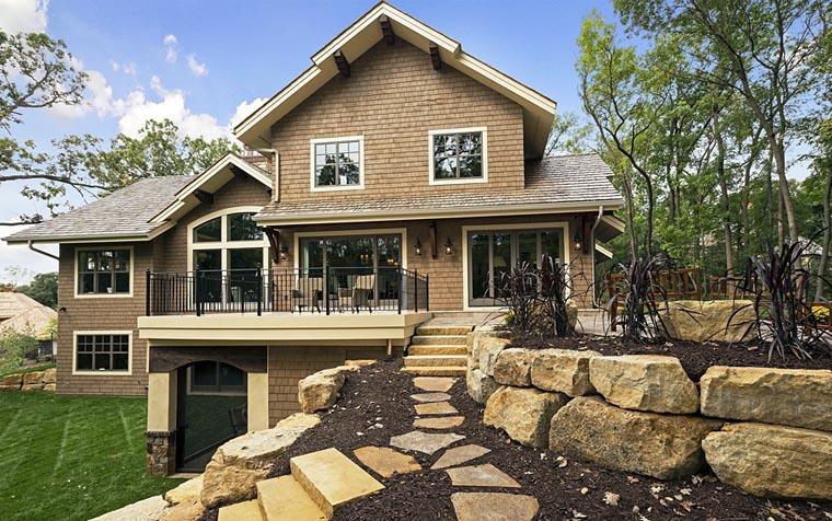 House Plan 42661 Rear Elevation