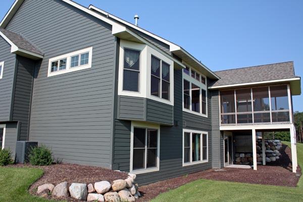 House Plan 42662 Rear Elevation