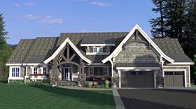 House Plan 42663 Elevation