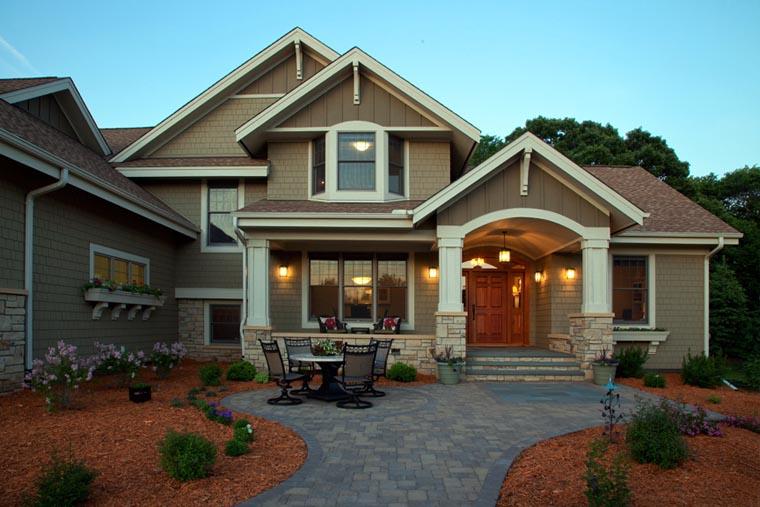 House Plan 42664 Elevation