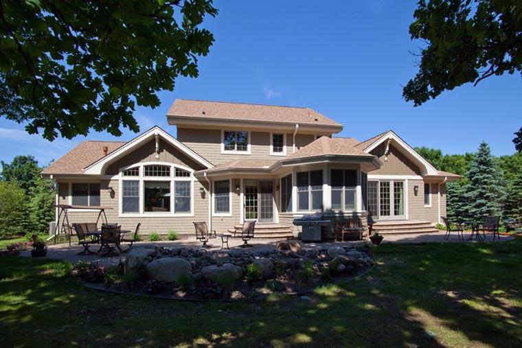 House Plan 42664 Rear Elevation