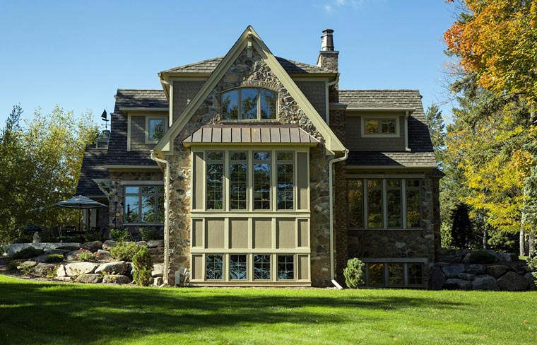 House Plan 42666 Rear Elevation