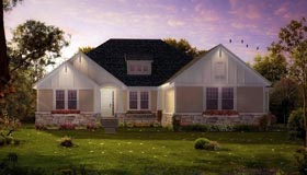 House Plan 42809   Craftsman Ranch Traditional Style Plan with 3768 Sq Ft, 4 Bedrooms, 4 Bathrooms, 3 Car Garage Elevation