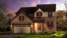 European French Country Tudor House Plan 42815 Elevation
