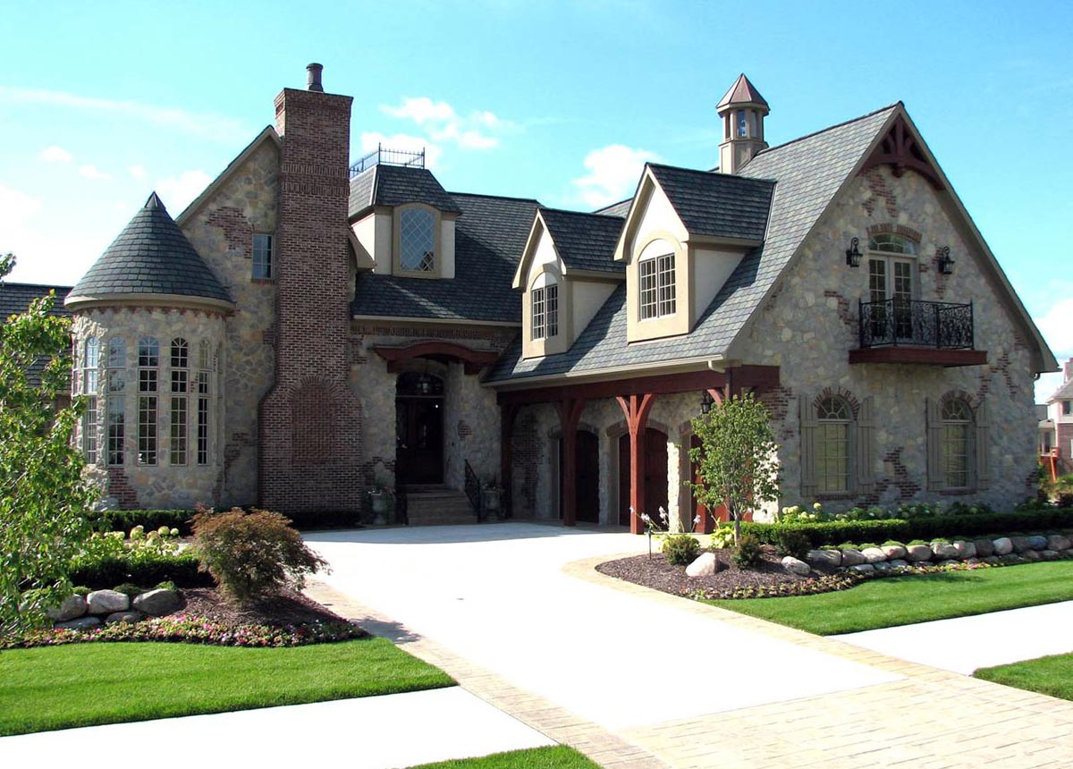 house plan 42820 at familyhomeplans com click here to see an even larger picture european french country tudor house