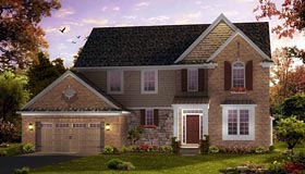 Coastal Traditional House Plan 42832 Elevation
