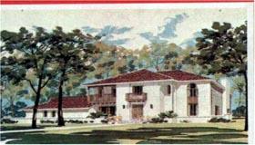 House Plan 43021 Elevation