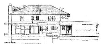 Mediterranean House Plan 43063 Rear Elevation