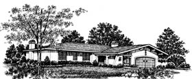 Plan Number 43069 - 1550 Square Feet