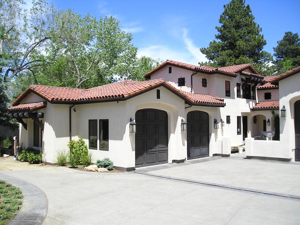 Mediterranean Santa Fe Southwest House Plan 43101