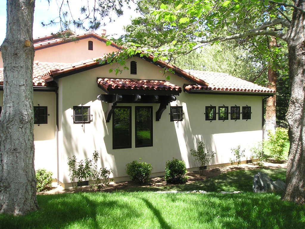 Mediterranean, Santa Fe, Southwest House Plan 43101 with 5 Beds, 5 Baths, 3 Car Garage Picture 2